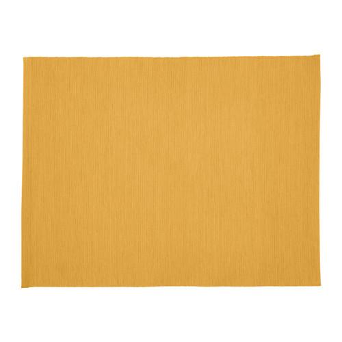 МЭРИТ Салфетка под прибор, темно-желтый, 35x45 см 80362889 IKEA, ИКЕА,