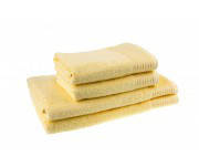 Полотенце махровое TerryLux 100*150 ТЛ400 (цвет желтый, ЭКОНОМ)