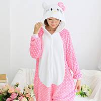 Женская пижама кигуруми Hello Kitty