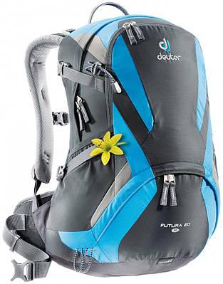 Женский рюкзак 20 л. в спортивном стиле FUTURA 20 SL DEUTER, 34194 4319 черный