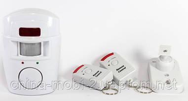 Автономная беспроводная сигнализация  с датчиком движения для дома, дачи, гаража, 105 ALARM
