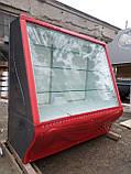 Витрина холодильная кондитерская Умка б/у, прилавок кондитерский бу., фото 3