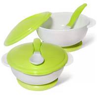 Набор для кормления (тарелка на присоске и ложка)