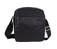 Надежная мужская сумка из прочного нейлона черная PR547231-31