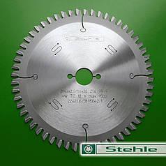 160х2,2х1,6х20 z=56 Дискова пила Stehle для кольорових металів та пластику (ручні циркулярні пили)
