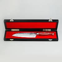 Нож из дамасской стали Santoku универсальный SK-1512