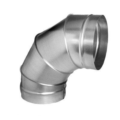 Поворот 45 и 90 градусов круглого сечения диаметром от 100 до 1500 мм