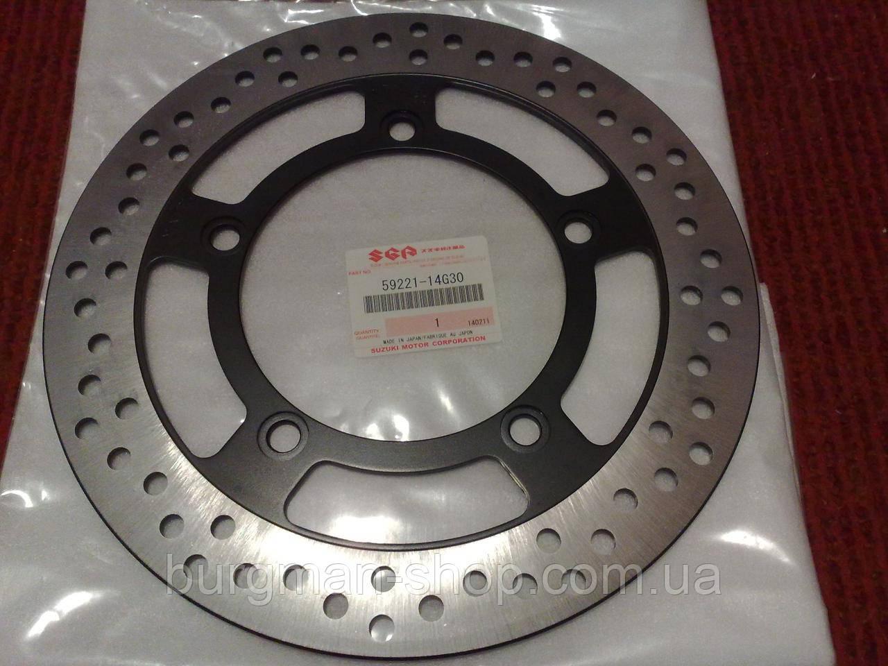 Передний тормозной диск К7