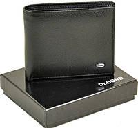 Мужской кожаный кошелек Dr.Bond с зажимом на магните, фото 1