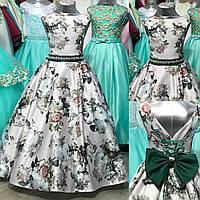 """Пышное бальное платье  для девочки """"Весна"""", фото 1"""