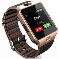 Часы Smart Watch DZ09 Золотые