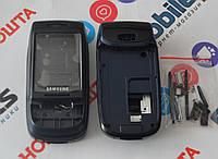 Корпус для телефона Samsung D500 в сборе (Качество ААА) (Черный) Распродажа! b691358108210