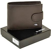 Мужской кожаный кошелек портмоне Dr. Bond маленький натуральная кожа, фото 1