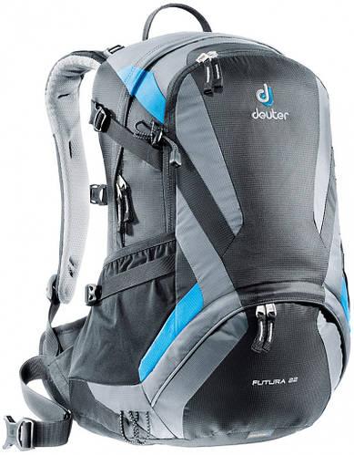 Городской рюкзак 22 л. для экскурсий, шопинг-тура FUTURA 22 DEUTER, 34204 7490 черный
