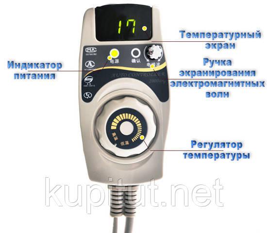 Мат турманиевый NM-80A  Nuga best (нуга бест) , пульт управления мат НМ 80
