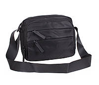 Компактная поясная мужская сумка черная PR5476338-21
