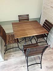 """Комплект кованой садовой мебели """" PAL"""" мини, фото 3"""