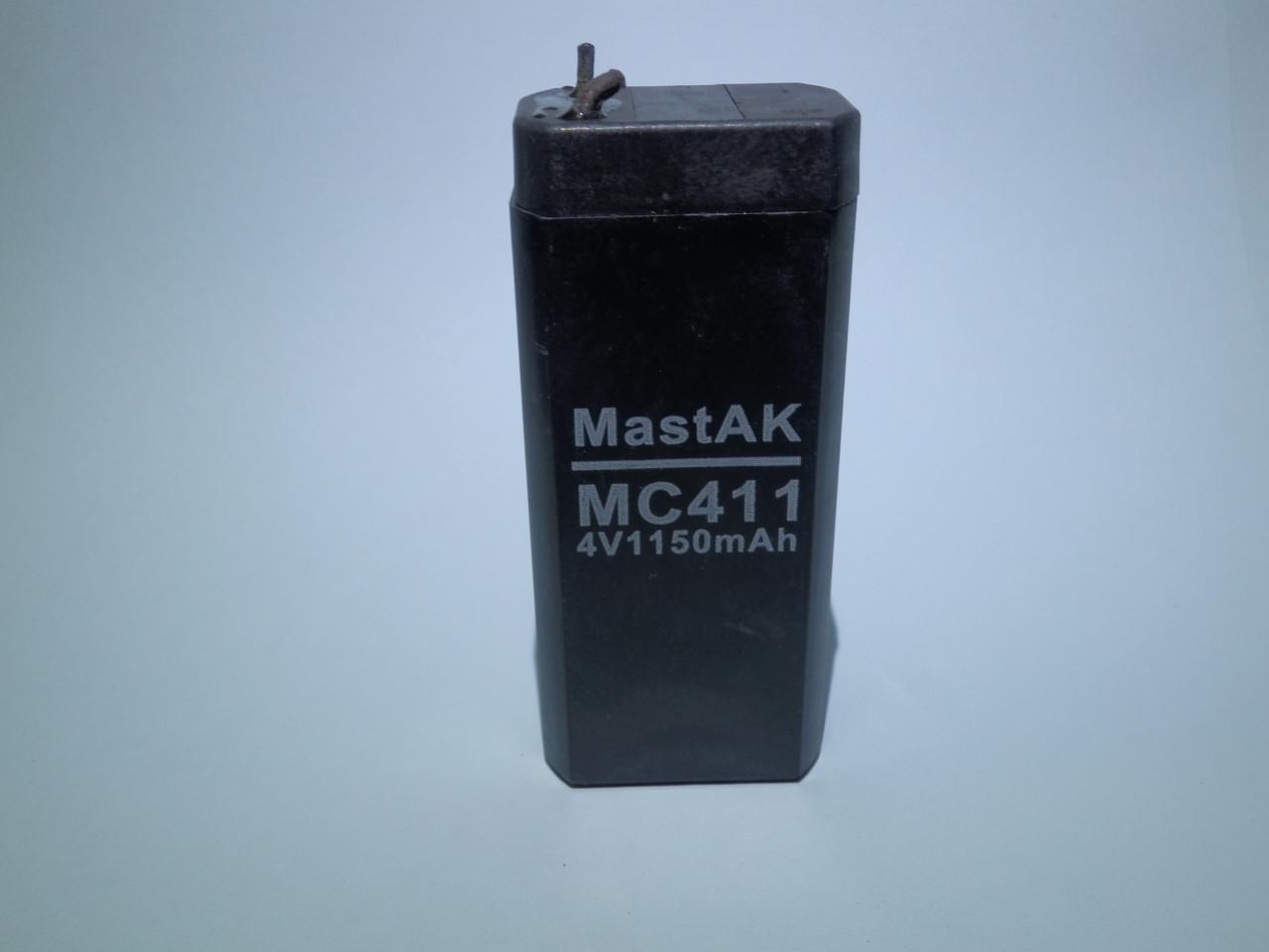 Аккумулятор  MastAK MС411 (4V 1,1Ah)