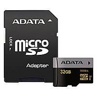 Карта памяти A-DATA 32GB microSD class 10 UHS-I U3 (AUSDH32GUI3CL10-RA1)