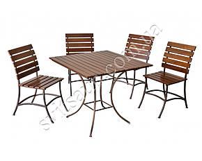 """Комплект кованой садовой мебели """" PAL"""" мини, фото 2"""
