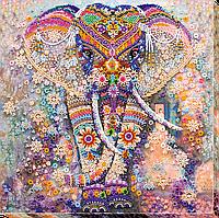 Вышивка бисером на холсте Чудо Индии (30 х 30 см) Абрис Арт AB-587