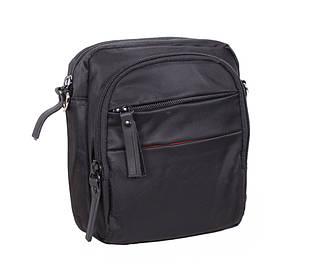 Компактная поясная сумка мужская и через плечо черная PR6339-11