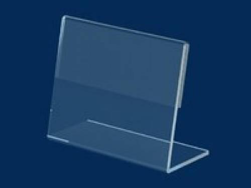 Ценникодержатель  ПВХ 0,6 мм L-образный ценник 40*50 не ломаеться и  не трескается, фото 2