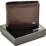 Мужской кожаный зажим кошелек Dr.Bond на магните, фото 1
