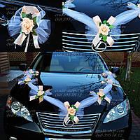 Украшения для свадебных машин (весільні прикраси на машину)