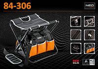 Табурет складной с сумкой для инструмента NEO 84-306, фото 1