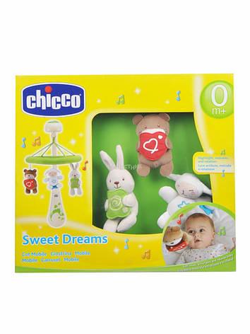 Музыкальная подвеска-мобиль Sweet Dreams Chicco, фото 2