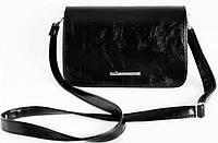 Женская кожаная сумка клатч каркасный, фото 1