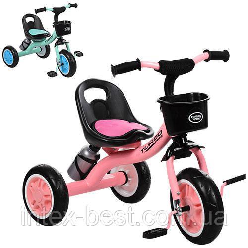 Детский трехколесный велосипед Turbotrike M 3197-M-1 колеса EVA