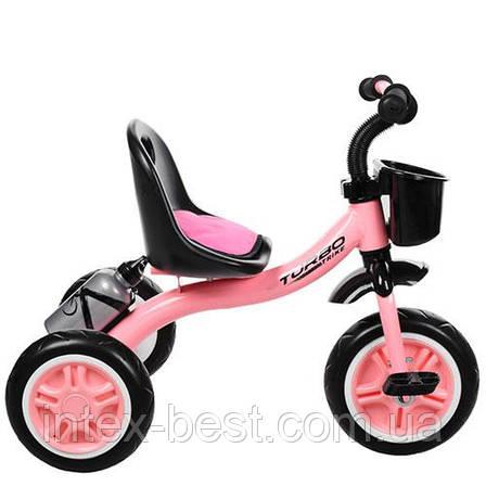 Детский трехколесный велосипед Turbotrike M 3197-M-1 колеса EVA, фото 2