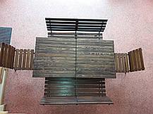 """Комплект кованой садовой мебели """" PAL"""" макси 2лавки+2стула, фото 2"""