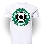 Футболка мужская размер L GeekLand Зелёный Фонарь Green Lantern Corps GL.01.002