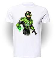 Футболка мужская размер L GeekLand Зелёный Фонарь Green Lantern Hero  GL.01.003