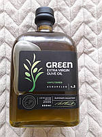 Оливковое масло Agoureleo Green Extra Virgin Platinum Collection Attica Food c оливками, 0.5 л