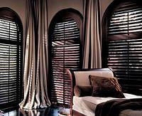 Жалюзи деревянные горизонтальные цвет wenge 50 мм, фото 1