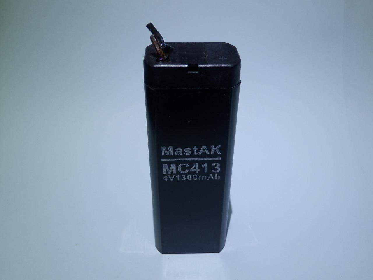Аккумулятор  MastAK MС413 (4V 1,3Ah)
