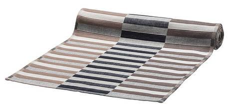 МИТТБИТ Салфетка под приборы, коричневый/черный, 45x35 см 603435662 IKEA, ИКЕА, MITTBIT, фото 2