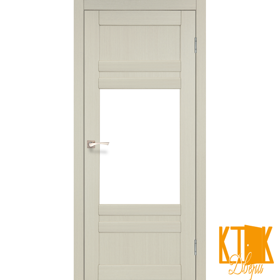"""Міжкімнатні двері колекції """"Tivoli"""" TV-01 (дуб білений)"""