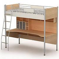 Кровать+стол М-16-1 Mega