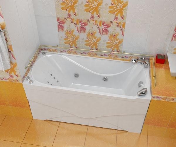 Акриловая ванна Triton Вики, 1600х750х720 мм