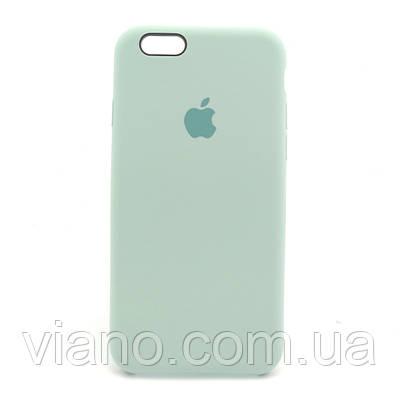 Силиконовый чехол iPhone 6 Plus/6S Plus, Apple silicone case (Бирюзовый)