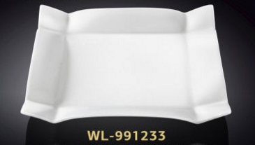 Блюдо квадратное фарфоровое 29 см Wilmax WL-991233