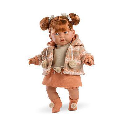 Кукла пупс испанская Амели интерактивная 42 см Amelie Llorens 42332