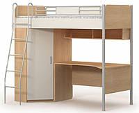 Кровать+стол+шкаф М-16-2 Mega
