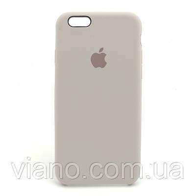 Силиконовый чехол iPhone 6 Plus/6S Plus, Apple silicone case (Лаванда)