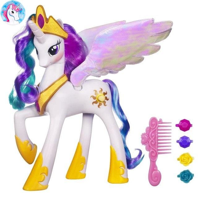 Большая интерактивная пони Принцесса Селестия My Little Pony Princess  Celestia - Детские игрушки интернет-магазин c273788a8dc